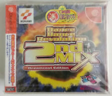 Dance Dance Revolution 2nd Mix Sega Dreamcast Japon NTSCJ scellée Seald