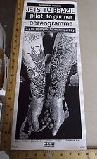MB 2002 Rock Roll Concert Poster Jets To Brazil Print Mafia S/N LE 40 Newport KY