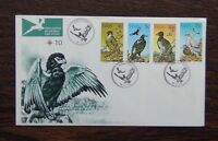 South West Africa 1975 Protected Birds of Prey set on First Day Cover