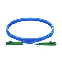 20m LC APC to LC APC Duplex Single Mode Armored PVC Optical Fiber Patch Cable