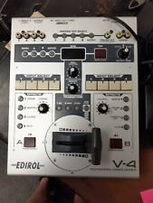 Roland Edirol v-4 Video Mixer with power cable switcher