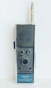 Pace CB-150 5 Watt 6 Channel Hand Held Transceiver Radio Vintage Tested Working