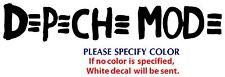 """Depeche Mode #4 Metal Music Rock Band JDM Vinyl Sticker Decal Car Window Wall 8"""""""