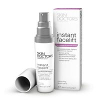SKIN DOCTORS INSTANT FACELIFT 30ML 5 MINUTE LIFT & TUCK TIGHTENS CONTOURS SKIN