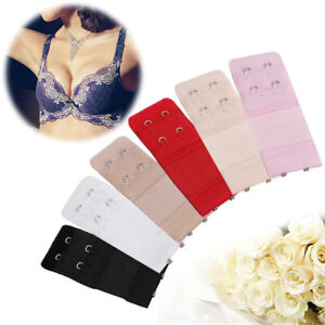 Hot Bra Extender Strap Extension Lengthened Adjustable Replacement Buckle 2 Hook
