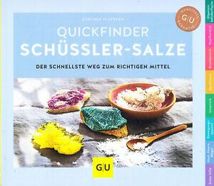 Quickfinder Schüßler-Salze, Heepen, GU, Auflage 2019/20, wie neu, UNGELESEN