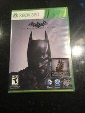 Batman: Arkham Origins XBOX 360 Brand New Factory Sealed