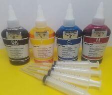 Tintas para recargar cartuchos  HP Canon calidad premiun 400ml