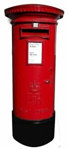 POST BOX STAND UP - 1.4m Cardboard Cutout Party Decoration Christmas British