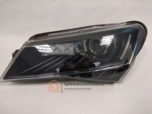 Skoda Superb III Headlight Left Xenon Facelift Top Condition