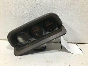 1994-1995 mitsubishi montero oil pressure volt compass thermometer meter oem