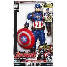 Marvel Avengers CAPTAIN AMERICA Titan Hero Tech 12Inch Talking Figure Electronic