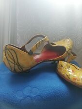 🎀Superbes Escarpins en cuir 👠 taille 39,5  🎀