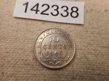 1945 C Newfoundland 10 Cents - Nice Collector Grade Album Coin - # 142338