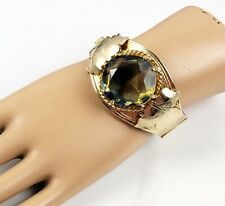 Vintage Sarah Coventry Versailles Hinged Bangle Bracelet