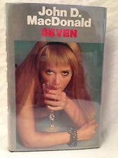 John D MacDonald - Seven - 1st/1st 1974 in Original Jacket - Playboy Magazine