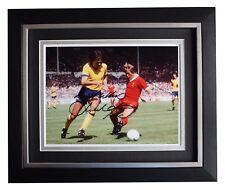 David O'Leary SIGNED 10x8 FRAMED Photo Autograph Display Arsenal Football COA