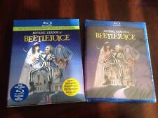 Beetlejuice Blu-ray Disc Anniversary Deluxe Edition OOP LENTICULAR SLIPCOVER NEW