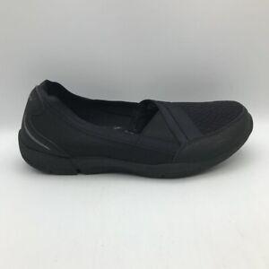 Skechers Womens Be Lux-Daylights Comfort Shoes Black Slip On Memory Foam 8.5 New