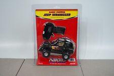 Nikko Radio Control Jeep Wrangler Ram 49MHz Black Remote Control 1/24 Scale NOS