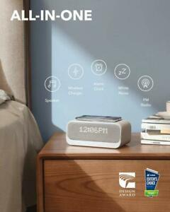 Anker Soundcore Wakey – Wireless Bluetooth Speaker, White