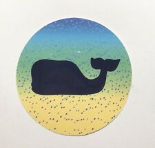 Vineyard Vines How Do You Summer Whale Dot Sticker  ~ New!