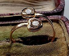 GENUINE 9ct Gold gf toe ring,Looks beautiful when worn,please See pics {c}