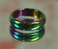 Rainbow 7 Colors Ring Leklai Thai Metal Charms Amulet jewelry PENDANT Size 9