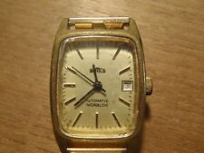 ANCIENNE MONTRE AUTOMATIC SEMCO INCABLOC PLAQUE OR LAMINE