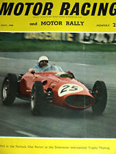 Maurice Trintignant Stirling Moss MONACO GRAND PRIX GP 1960 LOTUS CLIMAX 18 Hill