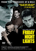 Friday Night Lights Billy Bob Thornton New DVD Region 4 Sealed