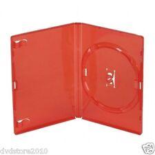 50 CUSTODIE SINGOLE ROSSE DVD 14 MM per CD DVD -R per verbatim AMARAY AMA02313K