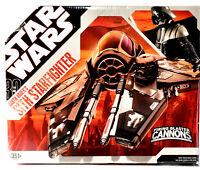 Hasbro Star Wars Darth Vader's Sith Starfighter Action Figure Vehicle e762