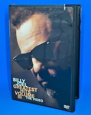BILLY JOEL The Greatest Hits, Volume III - (DVD)
