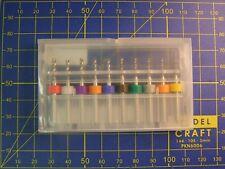 Coffret de 10 mini forêts 1,1 mm à 2 mm / circuit imprimé / train HO N décors