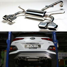JUN B.L. Dual Exhaust System for Hyundai Kona (OS) 2018+ [OVAL EXHAUST TIPS]