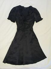 Marc by Marc Jacobs Retro Style Black Silk Dress Sz 6 Beautiful Classic!