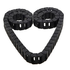 10 X 20mm 1m Open on Both Side Plastic Towline Cable Drag Chain D6