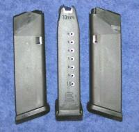 3 Glock 20 mags 10 round 10mm 4th Gen.Glock factory magazine X 3
