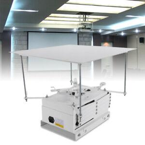 Projektor Halterung Motorisierter Lift Aufzug Beamer Mit Fernbedienung 220V Neu