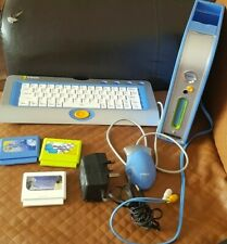 Vtech TV Learning Computer System with 3 Games RARE