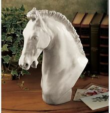 Power & Grace Stallion Statue Horse Head Bust 18th Century Replica Sculpture NEW