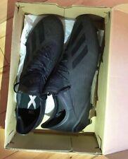 mens Adidas X 19.1 Black Football Boots FG size 12.5 UK