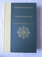 Old Book Two Esoteric Sutras BDK English Tripitaka Rolf Giebel 2001 !st Ed. GC
