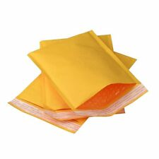(15) 7.25x12 Kraft Bubble Mailers #1 Padded Shipping 7.25 x 12 Envelopes