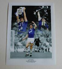 """KEVIN RATCLIFFE Everton HAND SIGNED Autograph 16"""" X 12"""" Photo Collage + COA"""