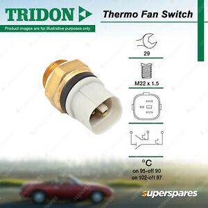Tridon Thermo Fan Switch for Audi A3 S3 TT 1.6L 1.8L AKL AVU BFQ APG AUM AUQ