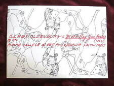 CLAES OLDENBURG - MORE RAY GUN POEMS - 1960, Rare Early Art Book by Sculptor