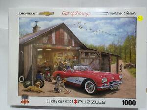Eurographics 65447 Out of Storage Corvette 1000 pce jigsaw