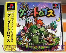 GOOGOOTROPS, GO GO TROPS, Sony Playstation JAPAN MARKET, completo like brand new